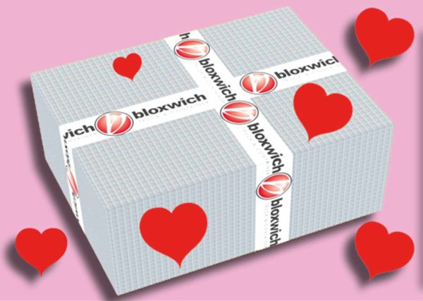 box of lashing rings as part of bloxwich Valentine's Special Offer