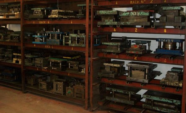 Bloxwich Stamping tooling racks