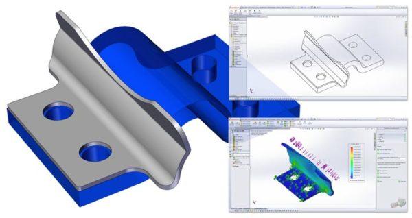 3D printing and metal pressings