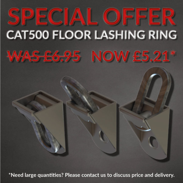 Special offer CAT500 floor lashing ring