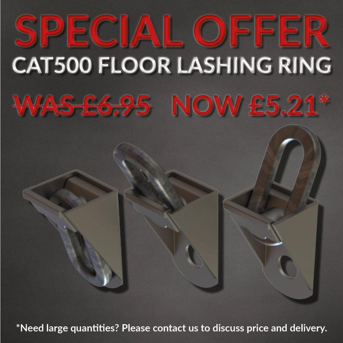 Special offer CAT500 floor lashing ring